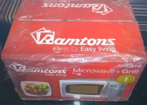Ramtons RM/310 Microwave Packaging and Unboxing